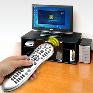 PCリモコンマウス(Windows Media Center対応)