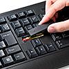 【PS4対応】ワイヤレスキーボード(電池寿命/約400時間)