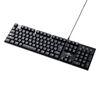 メカニカルキーボード(青軸・ロープロファイルスイッチ・Nキーロールオーバー・テンキー付き・バックライト搭載)