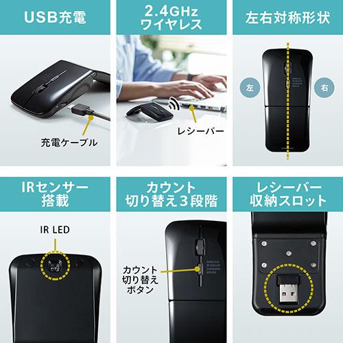 キーボードマウスセット(ワイヤレスキーボード・ワイヤレスマウス・スリムキーボード・薄型マウス・持ち運び・充電式・テンキーなし)