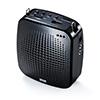 【10台セット】ポータブル拡声器(ハンズフリー・音楽同時再生可能・マイク付・USB/microSD対応・最大10W)