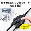 【オフィスアイテムセール】HDMIセレクター 切替器(2入力1出力・1入力2出力・電源不要)