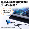 MHL変換アダプタ(MHL3.0・HDMI・4K対応・Xperia Z5・Z5 Compact・Z5 Premium・Z4・Z4 Tablet・Z3・Z3 compact対応 )