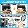 抜けにくいHDMI延長ケーブル(20cm・4K/30Hz・3D・ARC対応・ラッチ内蔵)