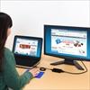 【ハロウィンセール】500-KC007N【USB-HDMIディスプレイ変換アダプタ】(マルチディスプレイ対応・USB入力・HDMI出力・拡張モード・複製モード対応)