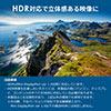 Mini DisplayPort-HDMI変換ケーブル(4K/60Hz対応・HDR対応・2m・ホワイト)
