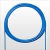 LANケーブル(自作用・100m・カテゴリ5e・単線・UTP・ブルー)