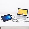 USB3.2/3.1 Gen1データリンクケーブル(Windows 10/Mac対応・パソコン/タブレット・データ移行・ドラッグ&ドロップ)