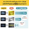USB Type-Cケーブル(USB2.0・USB PD対応・Type-Cオス/Type-Cオス・USB-IF認証済み・1m・ブラック)