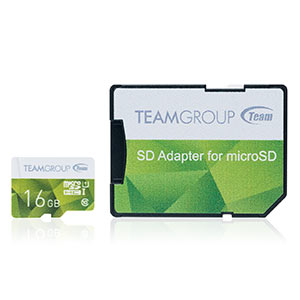 microSDHCカード(16GB・Class10・UHS-I対応・高速データ転送・SDカード変換アダプタ付き)