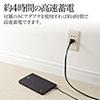 【飛行機持込可】ノートPC 充電器(大容量モバイルバッテリー・3.7V換算/15600mAh・約58Wh・ノートパソコン・iPad・iPhone・スマートフォン対応)