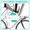 輪行袋(輪行バック・自転車・ロードバイク・クロスバイク・撥水・前後輪収納・ブラック・コンパクト)