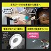クリップ式LEDデスクライト(充電式・フレキシブルアーム・丸型LED・3段階調光・3段階調色・24灯・最大400ルーメン・マグネット・タッチセンサー)