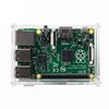 Raspberry Pi専用ケース(Pi 3 Model B/Pi 2 Model B/Pi Model B+対応・組立式・クリア)