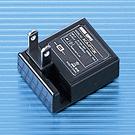 【わけあり在庫処分】USBスーパーミニACアダプタ(ブラック)