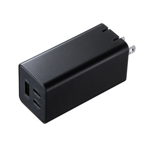 USB Power Delivery対応AC充電器(PD45W・GaN・Chromebook対応)