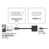 DisplayPort-HDMI変換アダプタ