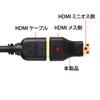 HDMI変換アダプタ(ミニHDMI)