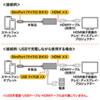 新Nexus7(2013)TV接続ケーブル (Slimport-HDMI変換アダプタ)