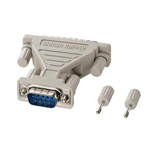 RS-232C変換アダプタ(D-sub9pinオス-D-sub25pinオス)