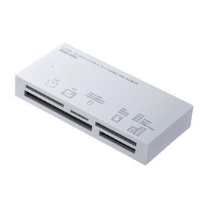 マルチカードリーダー(USB 3.1 Gen1対応・TYPE-A・ホワイト)