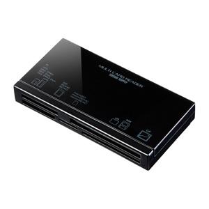 USB2.0 カードリーダー(microSDXC/SDXC/cf対応・4スロット同時認識)