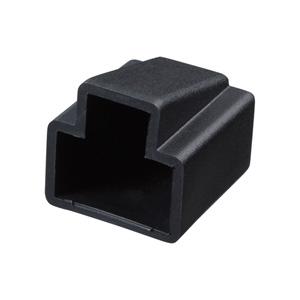 LANケーブルコネクターカバー(ブラック・10個入り)