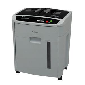 AFS-150C-H アイリスオーヤマ電動シュレッダー(業務用・クロスカット・6枚細断・連続15分使用・CD/DVD・カード対応)