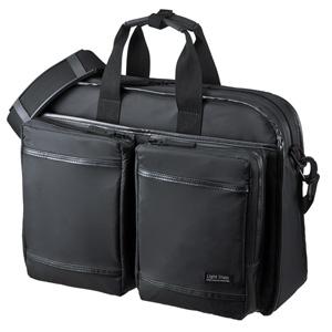 超撥水・軽量PCバッグ(15.6インチワイド・シングル・ブラック)