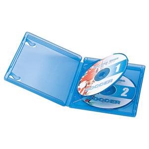 ブルーレイディスクケース(2枚収納・インデックスカード付き)