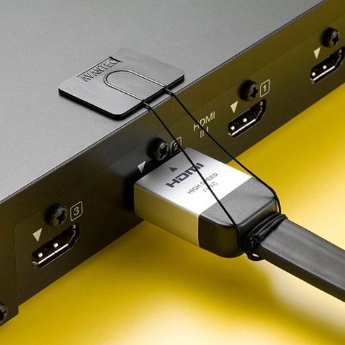 汎用チョイロック(タブレット・Wi-Fiルーター・スマートフォン対応・抜け防止・線材取り付け)