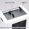 ノートパソコン・タブレット充電キャビネット(鍵付き・10台収納)
