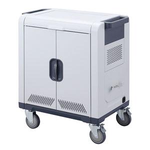 ノートパソコン・タブレットAC充電保管庫(14インチ対応・24台収納)