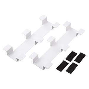 タブレット収納保管庫用ケーブルフックバー(2個セット・ホワイト)