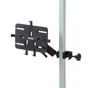 支柱取り付け用タブレットホルダー(2関節)