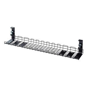 ケーブル配線トレー ワイヤー Lサイズ 汎用タイプ  ブラック
