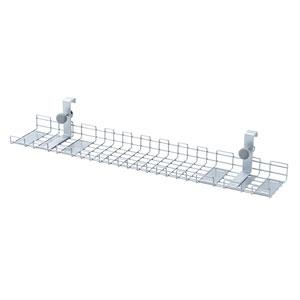 ケーブル配線トレー ワイヤー Lサイズ 汎用バックパネル取付け型