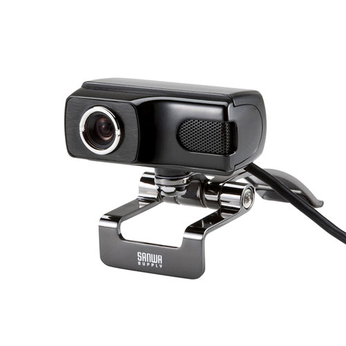 WEBカメラ(高画質500万画素・ブラック・3mロングケーブル)