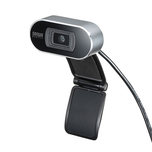WEBカメラ(オートフォーカス・200万画素・シルバー)