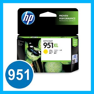 HP 951XL インクカートリッジ イエロー【返品不可】