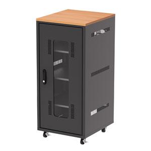 扉付き機器収納ボックス(W450)