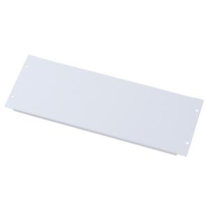 ブランクパネル(4U・ホワイト)