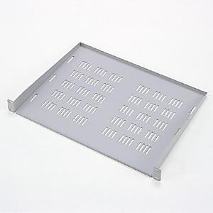 EIA用スリット付棚板(1U・ライトグレー)