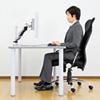 【オフィスアイテムセール】水平垂直多関節液晶モニターアーム