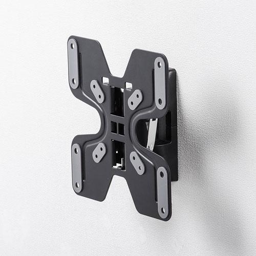 モニターアーム(42インチまで・壁掛け・水平・VESA対応・アーム長82.5mm)