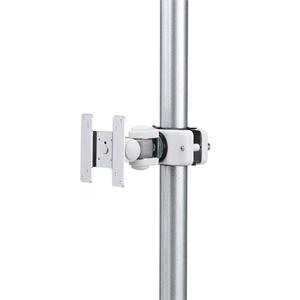モニターアーム(ポール取付け・VESA規格・75×75mm・100×100mm対応・2関節)