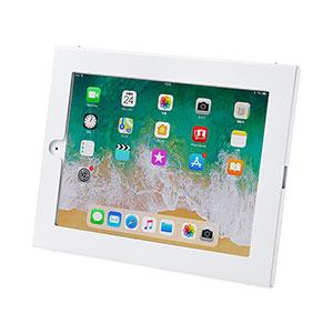 【わけあり在庫処分】iPad用壁面取付けケース(iPad Air/Air2、9.7インチiPad Pro、9.7インチiPad 2017対応・角度調整機能付き)