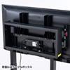 テレビスタンド(電動上下昇降・60型/65型/70型/75型/80型/84型対応)