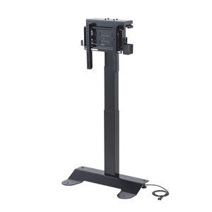 壁寄せ電動昇降ディスプレイスタンド(32~40型対応)