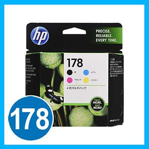 HP プリントカートリッジ HP178 4色マルチパック
